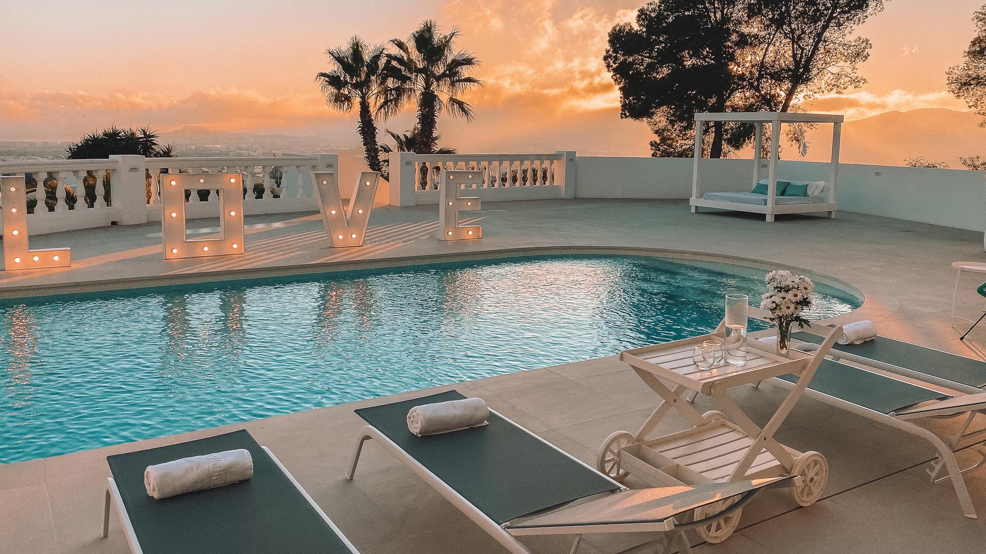 Ibiza Luxusvilla Fotografie Kurse
